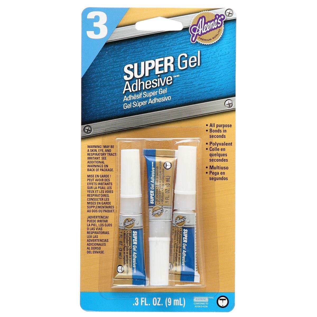 Picture of Aleene's® Super Gel Adhesive™ 3 Pack