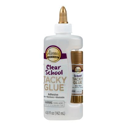 Picture of Aleene's® Clear School Tacky Glue® with Glue Stick