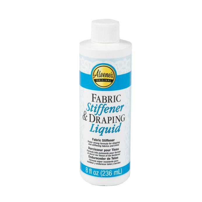 Aleene's ® Fabric Stiffener & Draping Liquid 8oz