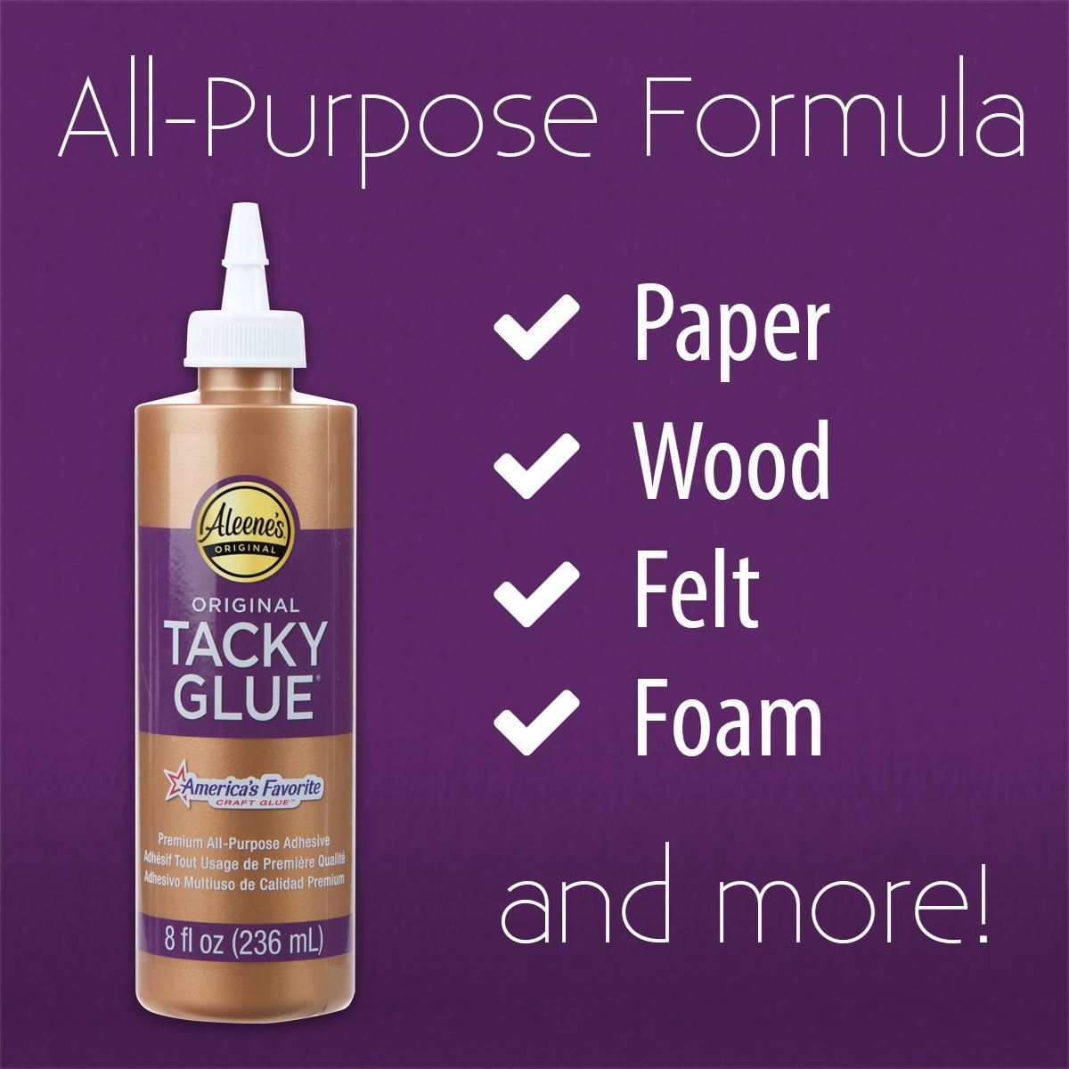 easy squeeze original tacky glue - surfaces