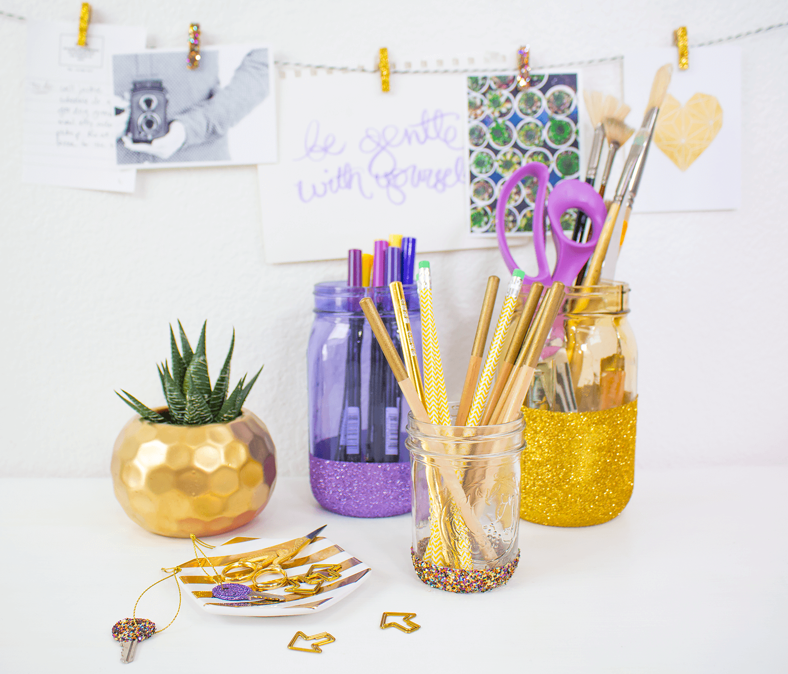 Picture of 3 Glitter Organizing Ideas