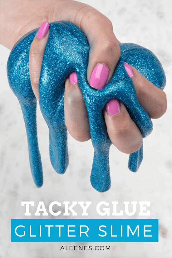 Picture of Tacky Glue Glitter Slime DIY