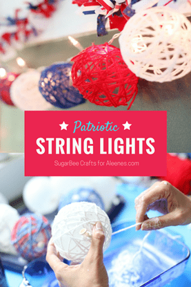 Picture of Patriotic Yarn Lights