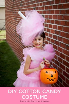 Picture of DIY Cotton Candy Costume