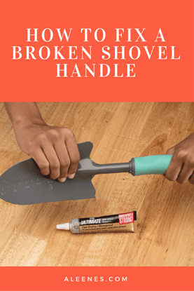 Picture of How to Fix a Broken Shovel Handle