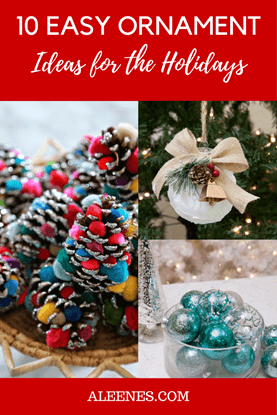 Picture of 10 Easy Ornament Ideas for the Holidays