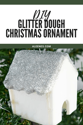 Picture of DIY Glitter Dough Ornament for Christmas
