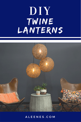 Picture of DIY Twine Lanterns