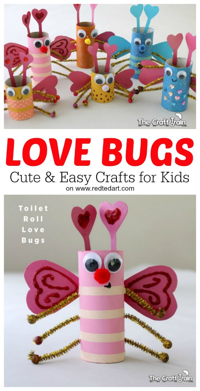 10+ Valentine's Day Crafts Step 2