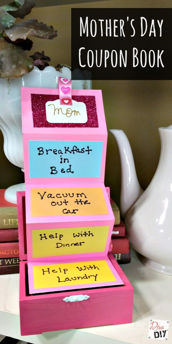 10+ Crafts and Gifts for Mother's Day Step 10
