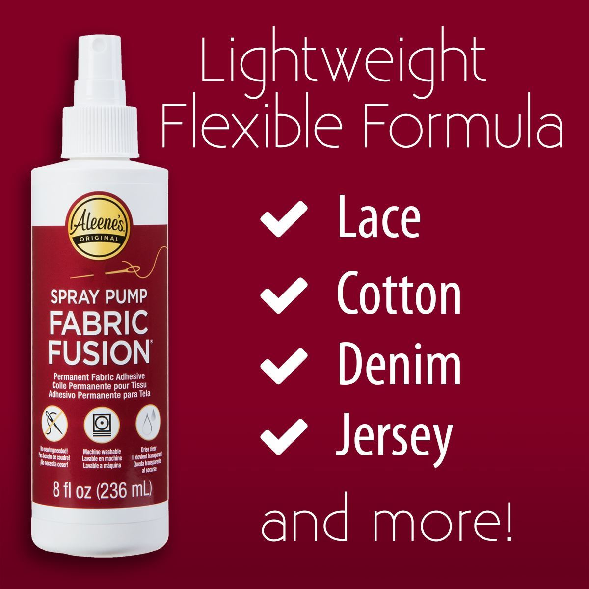 Fabric Fusion Spray Surfaces