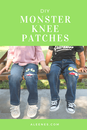 Picture of DIY Monster Knee Patches